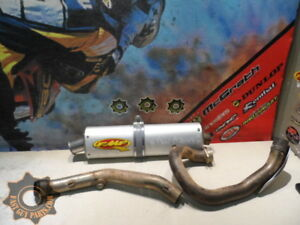 2003 GAS GAS 450 EC EXHAUST HEAD PIPE + SILENCER FMF 03 GASGAS 450EC EC450