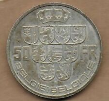 50 Francs Léopold III 1939 FL-FR Pos A