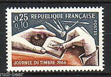 Frankreich   Nr. 1540  **  Tag der Briefmarke