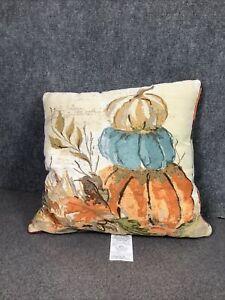 Brentwood Originals Harvest Pumpkin Stacked Decoration Seasonal Pillow 1ct M38E