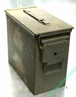 1 Caja de municion municiones de EE. UU., PA19, Cal. 5.56, usado 28x25x14