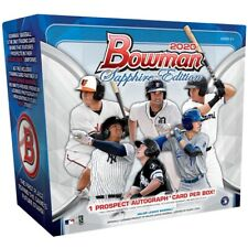 BRAND NEW 2020 Topps Bowman Sapphire Edition Sealed Box -IN HAND!