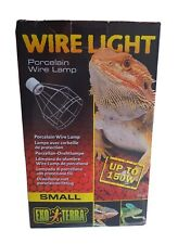 Exo Terra Wire Light Small 150W for Reptile Vivariums and Amphibian Terrariums