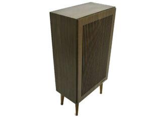 Retro Grundig Speaker Box Wood germany Tested and Working Box 45 15 watt 5 ohm