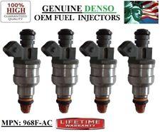 LIFETIME WARRANTY x4 Fuel Injectors for 96-99 Ford Contour 2.0L I4 DENSO 968F-AC