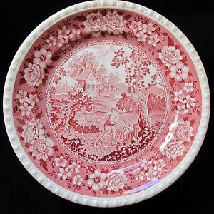 """VILLEROY & BOCH, """"Rusticana rot"""", VIER Speiseteller, Dm 26 cm"""