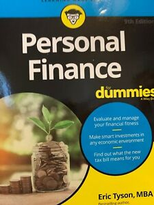 Personal Finance For Dummies - Paperback By Tyson, Eric - VERY GOOD