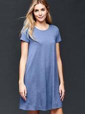 Gap Women's Blue A-Line Tee Dress Size S Petite