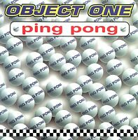 Object One CD Single Ping Pong - France (EX/M)