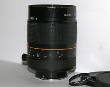 Nikon Reflex Nikkor 500mm F/8.0 Ai HN-27 Lens #183313 Latest Model Great Shape