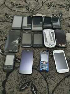 Job lot of 14 devices: Nokia Mixed Phones Joblot Bulk Faulty 048