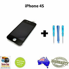 iPhone 4S Replacement LCD Touch Screen Digitizer & LCD Complete Assembly - BLACK