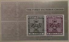 Briefmarken Australien Blcok The First Victoria Cross  gestempelt o