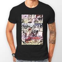 Fairy Tail Erza Scarlet Manga Strip Anime Unisex Tshirt T-Shirt Tee ALL SIZES