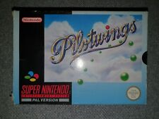Nintendo Snes Game Pilotwings Boxed And Complete