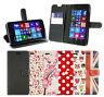 Estilizado BEST Funda de cuero de PU Funda para Microsoft Lumia 950/950xl