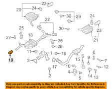 AUDI OEM 10-16 A5 Quattro 2.0L-L4 Exhaust-Pre-Muffler Resonator Clamp 1K0253141P