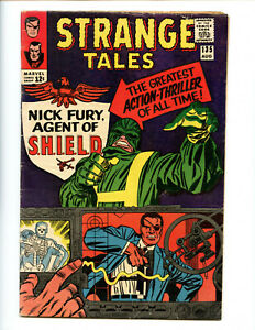 Strange Tales 135 affordable key book, solid shape 1st Nick Fury Agent of ...