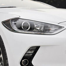 For Hyundai Elantra 2017-2018 Chrome Front Head Light Lamp Cover Trim bezel