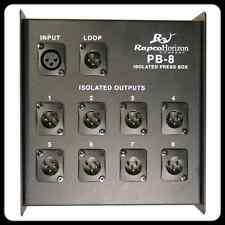 RapcoHorizon PB-8 Press Box, 1-In 8-Out w/Loop Out, Authorized Dealer