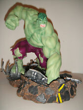 ART ASYLUM MARVEL MILESTONES INCREDIBLE HULK SMASHING STATUE AVENGERS SHE BUST
