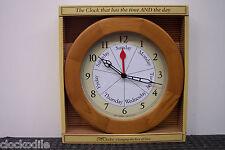 NEW 7 Day of Week Clock Date DAYCLOCK Retirement DAYCLOCKS RV  -  Alzheimers