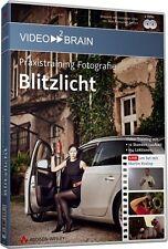 video2brain Blitzlicht - Praxistraining Fotografie, Video-Training DVD NEU