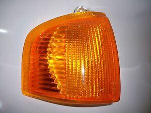 Pour Ford Escort Mk4 1986-1990 Ambre Avant Clignotant Lampe Côté Gauche