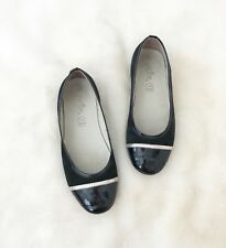 a8e01ae159ee Pazitos Girls Leather Flat Shoes Size 33(US 1)