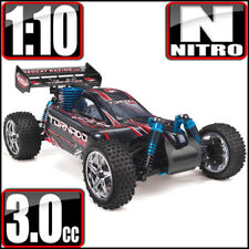Redcat Racing Tornado S30 1/10 Scale RTR Nitro Buggy RC Car Black Red NEW
