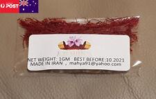 10GM Saffron,High Quality,Natural Colours & Flavour,Dry Filaments,100% Pure