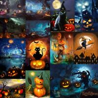 5D DIY Full /Part Drill Diamond Painting Halloween Cross Stitch Home Wall Decor