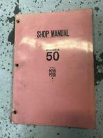 1968 1969 1970 Honda PC50 PC 50  Service Shop Workshop Repair Manual OEM