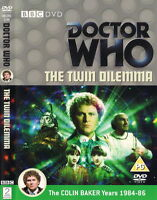 Doctor Who - The Twin Dilemma [DVD] [1984] - Colin Baker; Nichola Bryant  SEALED