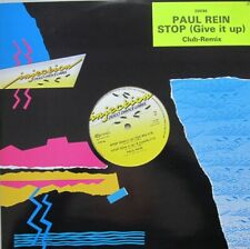 "PAUL REIN - STOP(GIVE IT UP) - 12"" CLUB-REMIX  45 RPM"
