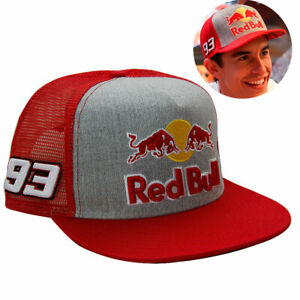 NEW RB MM 93 MOTO GP SNAPBACK BASEBALL CAP MESH TRUCKER CACHUCHA HAT RED
