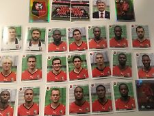 panini foot equipe RENNES 2009 complete