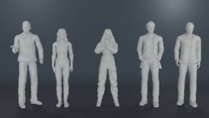 James Bond Never Say Never Again 007 Domino Fatima Largo Felix 3D Print 1:18 Set