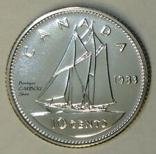 1983 Canada Proof-Like 10 Cents