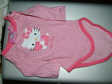 body manches longues Hello Kitty 1 mois état NEUF