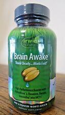 !!! nuevo!!! Irwin Naturals Cerebro Despierto 60 geles de suave (3132)