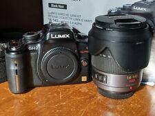 New listing Panasonic Lumix Dmc-Gh2 with 14-140mm lens