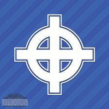 Celtic Cross Irish Vinyl Sticker Decal