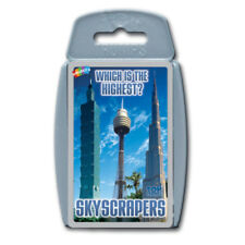 Top Trumps Skyscrapers NEW