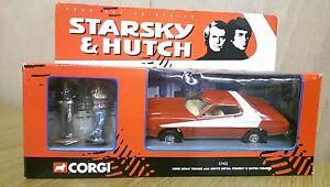 Corgi 57402 diecast Starsky & Hutch Ford Gran Torino + White Metal Figures