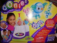 (53) Oonies Inflator mega Starter Pack  Inflate Stick Create unused