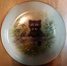 """ Making Friends "" Limited Edition Collector Plate"