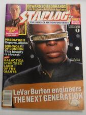 Starlog Magazine LeVar Burton Engineers No.162 January 1991 082115R
