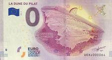 BILLET SOUVENIR TOURISTIQUE LA DUNE DU PILAT 2018-3 PETIT N° 0064