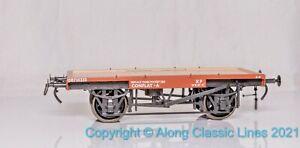 Dapol 7F-037-103, Gauge O, British Railways Conflat A wagon in BR Bauxite